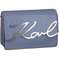 Karl Lagerfeld - K-Signature Shoulder in Blau