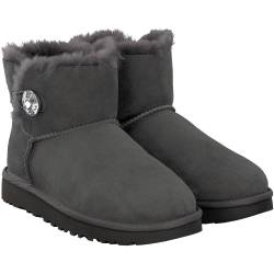 UGG - Mini B. Button Bling in Grau