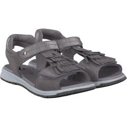 Zebra - Sandale in Silber
