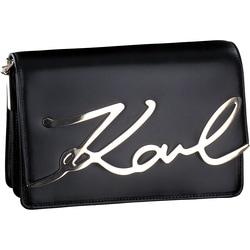 Karl Lagerfeld - K-Signature Shoulder in Schwarz