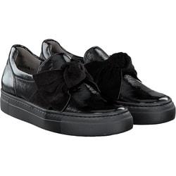 Paul Green - Slip On in schwarz