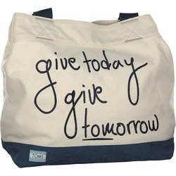 Toms - Today Tote in Blau