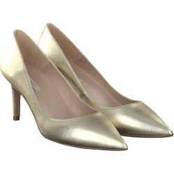 Pura Lopez - Pumps in Gold