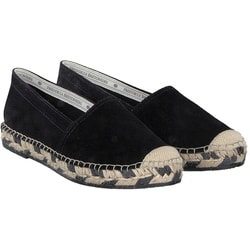 Fred de la Bretoniere - Espadrille Loafer in Schwarz