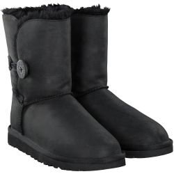 UGG - BAILEY LEATHER in Schwarz