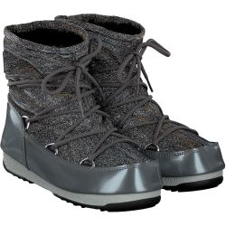 Moon Boot - Low Lurex in Silber