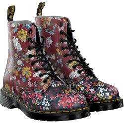Dr. Martens - Pascal Floral in Rot