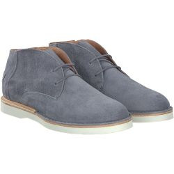 Shabbies - Ankle Boot Lace Up in Grau