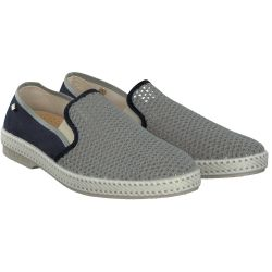 Rivieras - Slipper in Grau