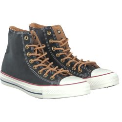 Converse - PEACHED CANVAS in Schwarz