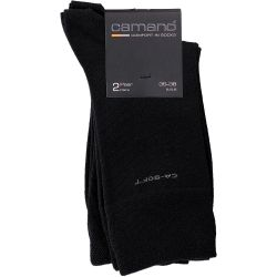 camano - CA-SOFT Socks in Schwarz