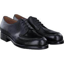 Schnürschuhe in Schwarz