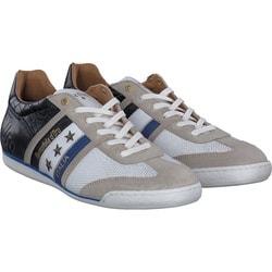 Pantofola d´Oro - Imola Croco in Beige / Weiß