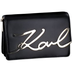 Karl Lagerfeld - K-Signature Shoulder in Schwarz