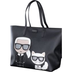 Karl Lagerfeld - K-Iconic Shopper in schwarz