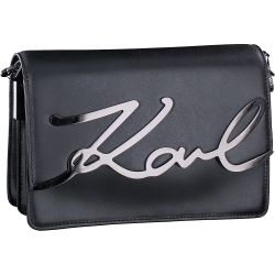 Karl Lagerfeld - Kay-Signature Should in Schwarz