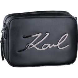 Karl Lagerfeld - Kay- Signature Camer in Schwarz