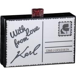 Karl Lagerfeld - Postcard in Weiß