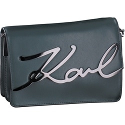Karl Lagerfeld - Kay-Signature Should in grün