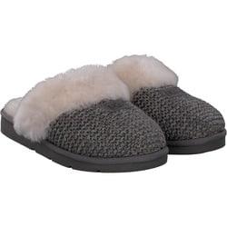 Ugg - Cozy Knit Slipper in grau