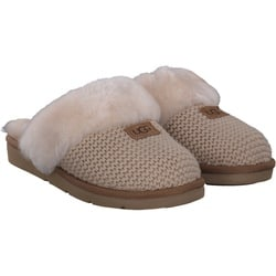 Ugg - Cozy Knit Slipper in beige