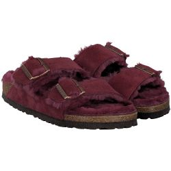 Birkenstock - Arizona in Bordeaux