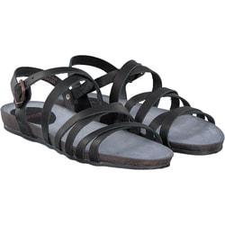 Fred de la Bretoniere - Sandale in schwarz