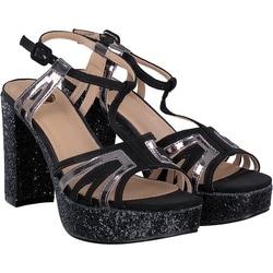 Buffalo - Sandale in Schwarz