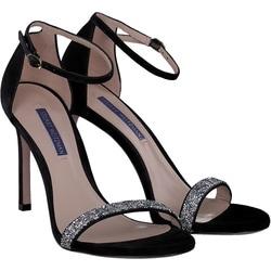 Stuart Weitzman - Sandalen in schwarz