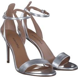 Pura Lopez - Sandale in Silber