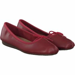 Clarks - Freckle Ice in Rot