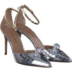 Pura Lopez - Pumps in Silber / Gold