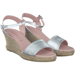 Pretty Ballerinas - Espadrilles in Silber