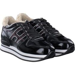 Hogan - Schnürschuh in schwarz