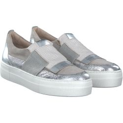 Donna Carolina - Slip On in Silber