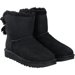 UGG - Mini Bailey Bow in Schwarz