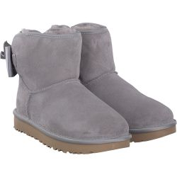 UGG - Satin Bow Mini in Grau