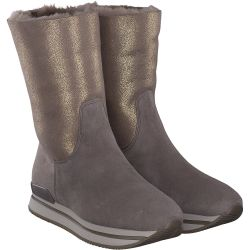 Hogan - Winterstiefel in Beige