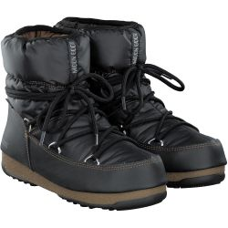 Moonboot - Low Nylon in Schwarz