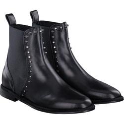 MA&LO - Stiefelette in schwarz