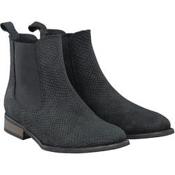 KMB - Chelsea Boots in Schwarz