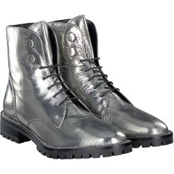 Terry - Stiefelette in Silber