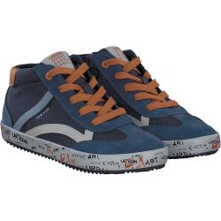Geox - J ALONISSO B. G - CANVAS SUEDE in blau