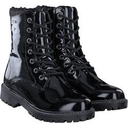 Zebra - Stiefel in Schwarz