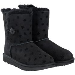UGG - Bailey Button  Stars in schwarz