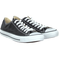 Converse - CHUCK LOW in Schwarz