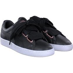 Puma - Basket Heart in schwarz