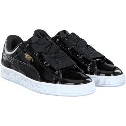 Puma - Basket Heart in schwarz