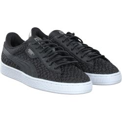 Puma - Basket Satin EP in schwarz