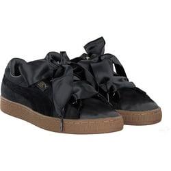 Puma - Basket Heart VS in schwarz